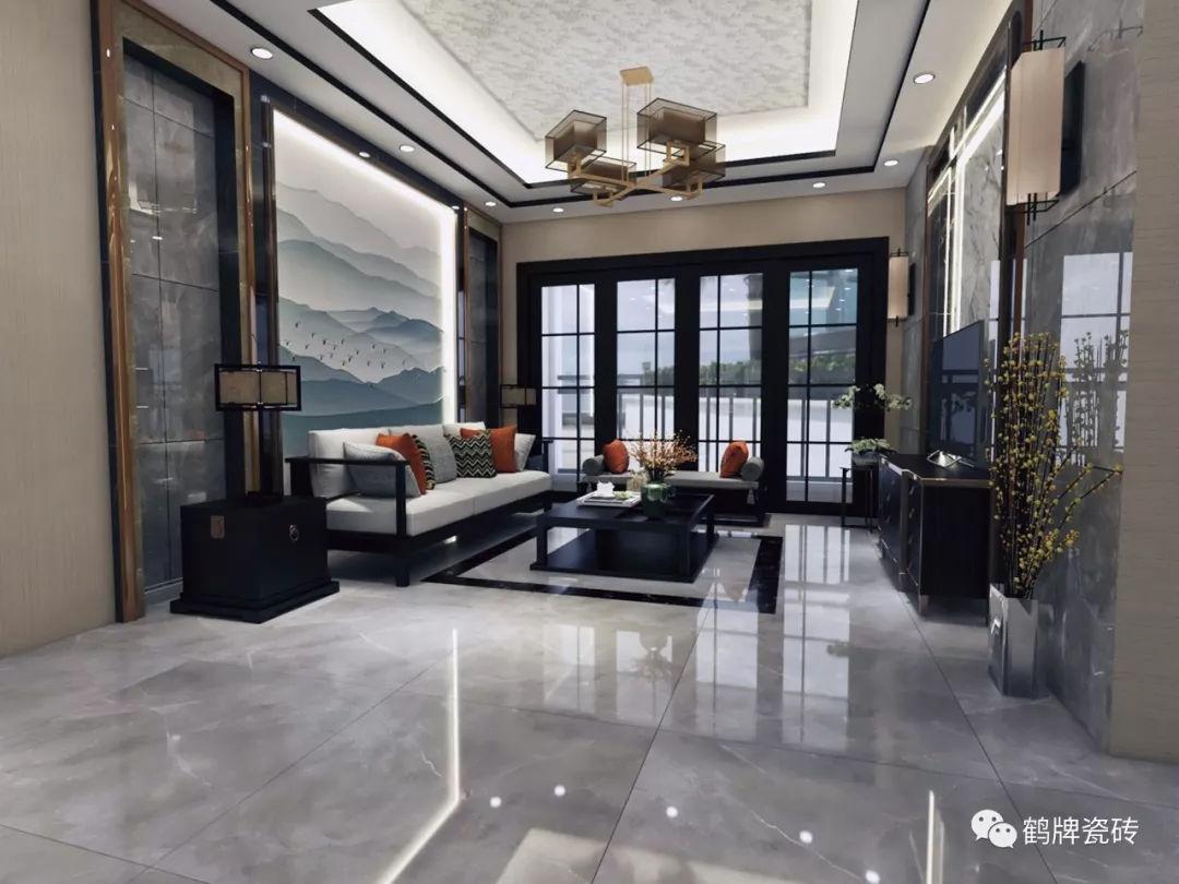 正在流行的新中式,用瓷砖应该怎样搭配?