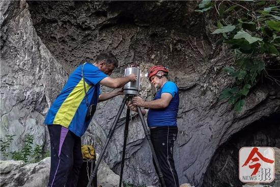 """""""天坑""""照曝光!广西现世界级巨型洞穴大厅 深度超百米,闫妮剃毛门照片"""