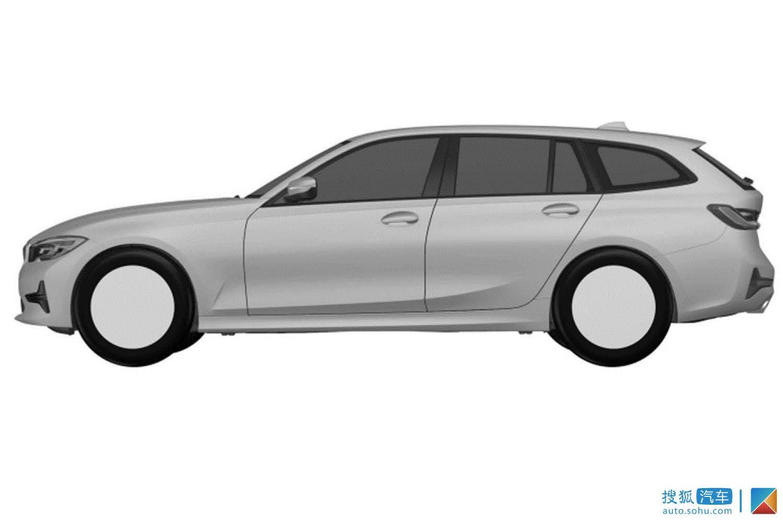 新宝马3系旅行版专利图曝光 将推PHEV车型(第1页) -
