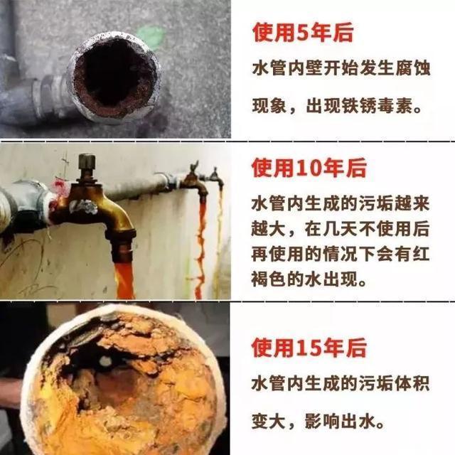 自来水管造成水的二次污染?怎么处理?