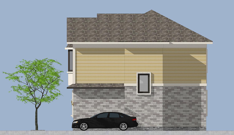 八角房顶设计图