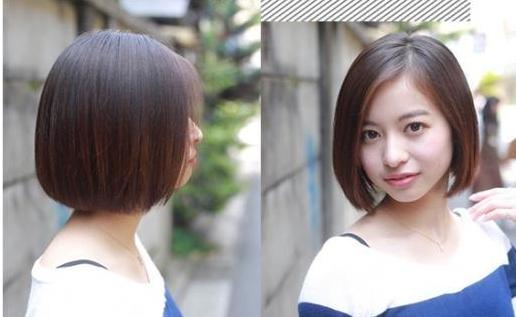 圆脸女生的福音,换上这几种发型,简直不要太好看!_短发图片