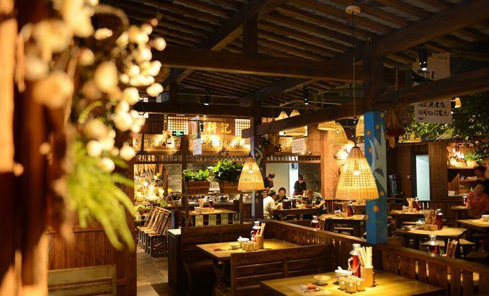 餐厅出菜口设计图