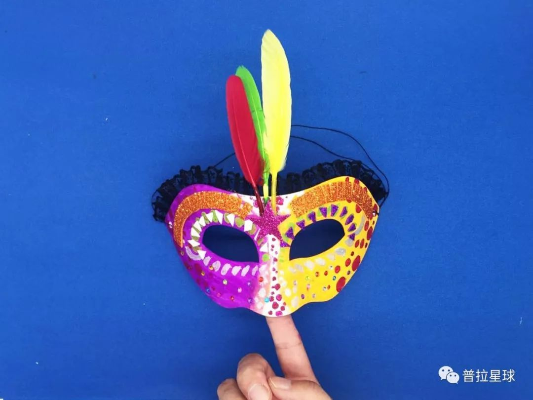 DIY万圣节面具