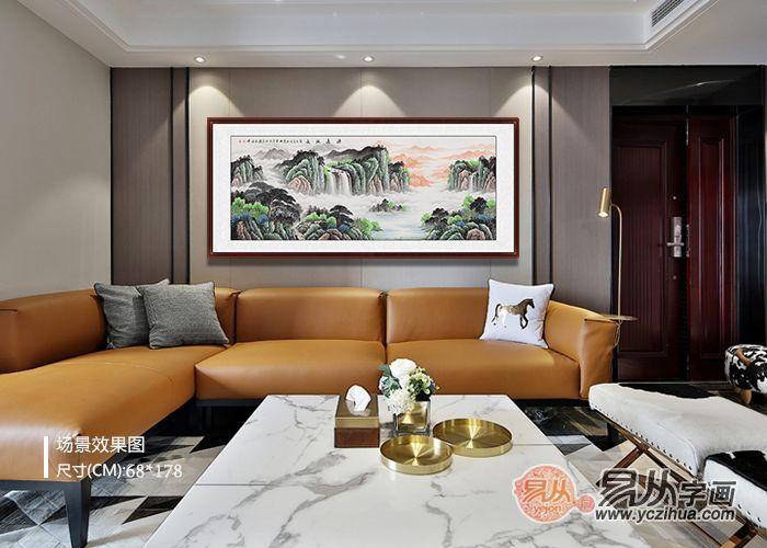 客厅装饰画不知如何选?几个案例找出最适合你的风格