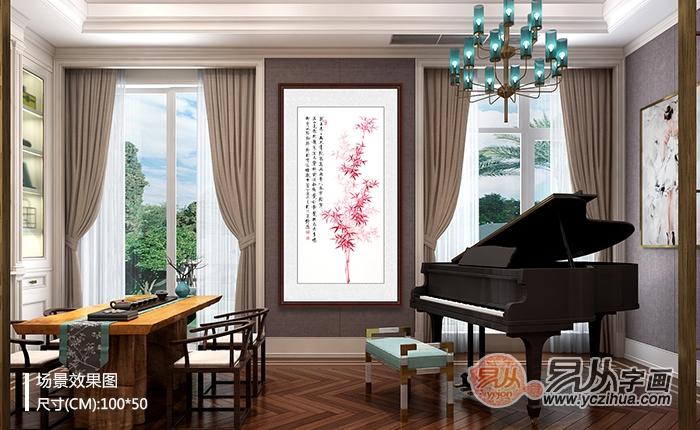 客厅玄关画有什么风水讲究 这真是机智的选择
