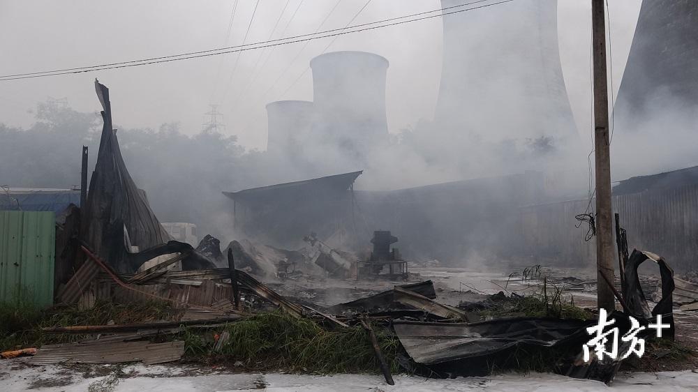 网传梅县槐岗电厂发生火灾?假的,真相在这里(视频、多图)