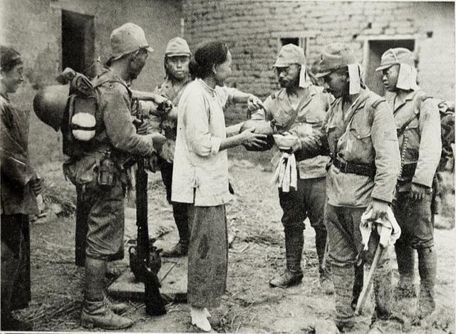 日寇屠刀下的血泪历史,为保护军用物资和伤员,43名无辜老人被杀