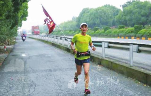 轻松跑完42公里陈永兴享受一个人的马拉松