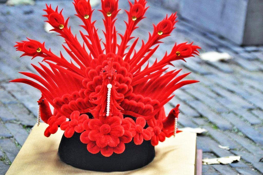 2,南京绒花