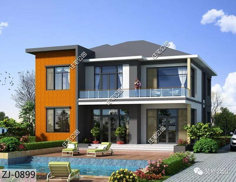13米×13米别墅设计图
