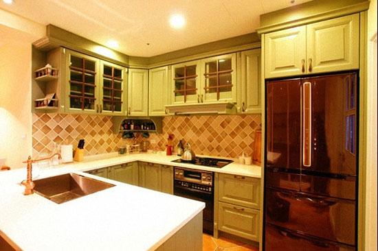 小户型精装修样板房 80平两室一厅改三室一厅