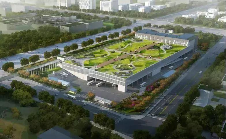 政务 正文  东小营公交中心站规划四至 东至车辆段西侧路,隔路为在建