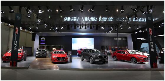 长安马自达首款中大型国产SUV CX-8携全系车型魂动2018武汉车展