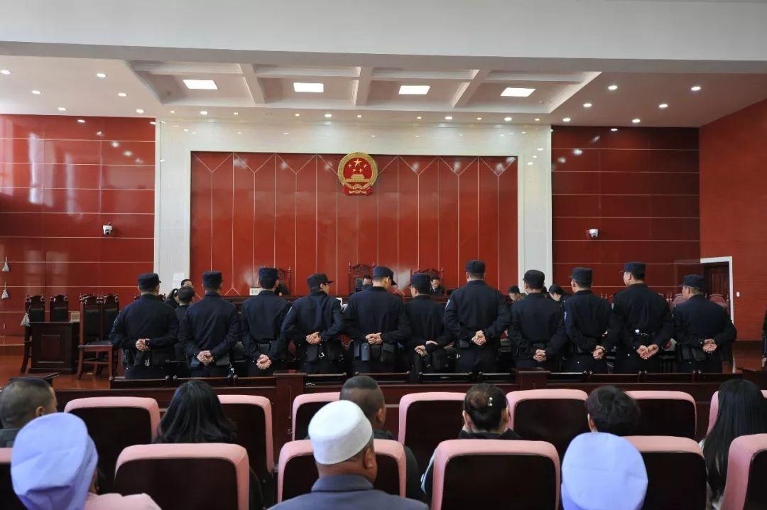 【法制】彭阳县法院法警大队圆满完成一起盗窃案件庭审安保任务!