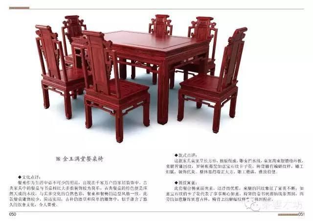 中国红木家具效果图+图纸+三维模型 (159页)附制作工艺