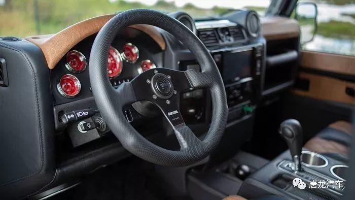 【性能越野范】ECD改装Defender 植入Chevrolet Corvette V8引擎