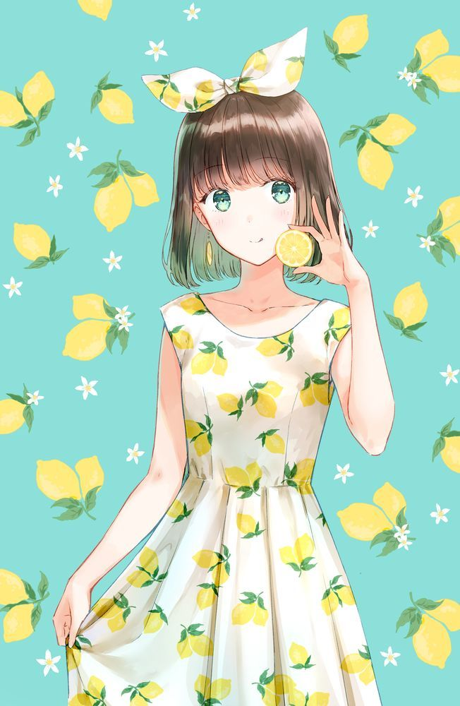 你身上是初恋的味道 柠檬少女唯美壁纸