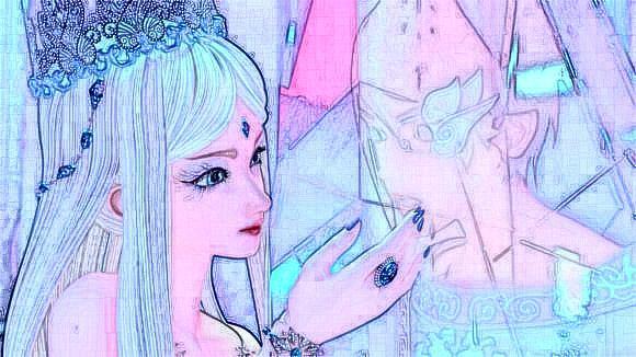 ,王默变丑了,冰公主依旧美如画