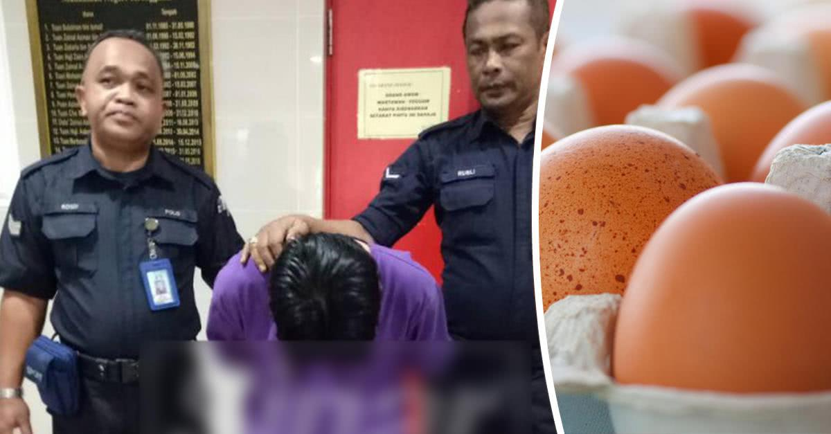 男子在超市偷30个鸡蛋被抓,或面临10年监禁引热议