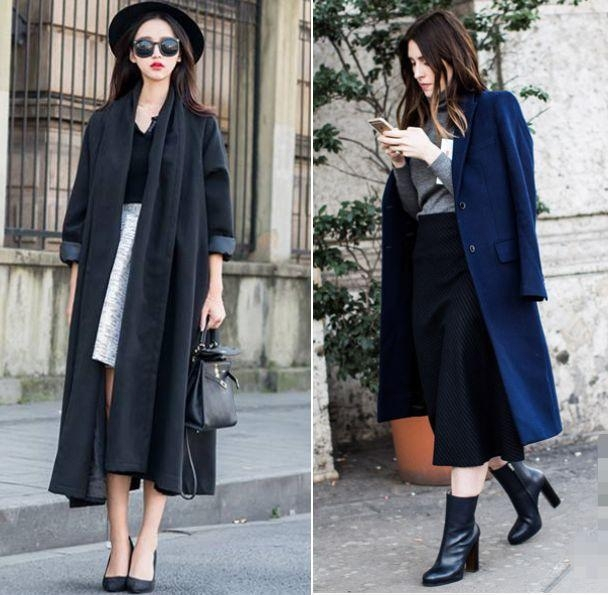 """今年穿大衣,流行""""穿长不穿短"""",矮个子女人这样穿,显高有气质"""