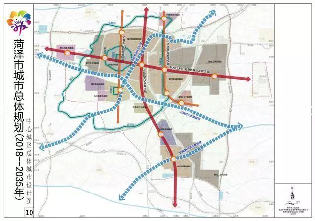 《菏泽市城市总体规划(2018-2035年)》(草案)公示!图片
