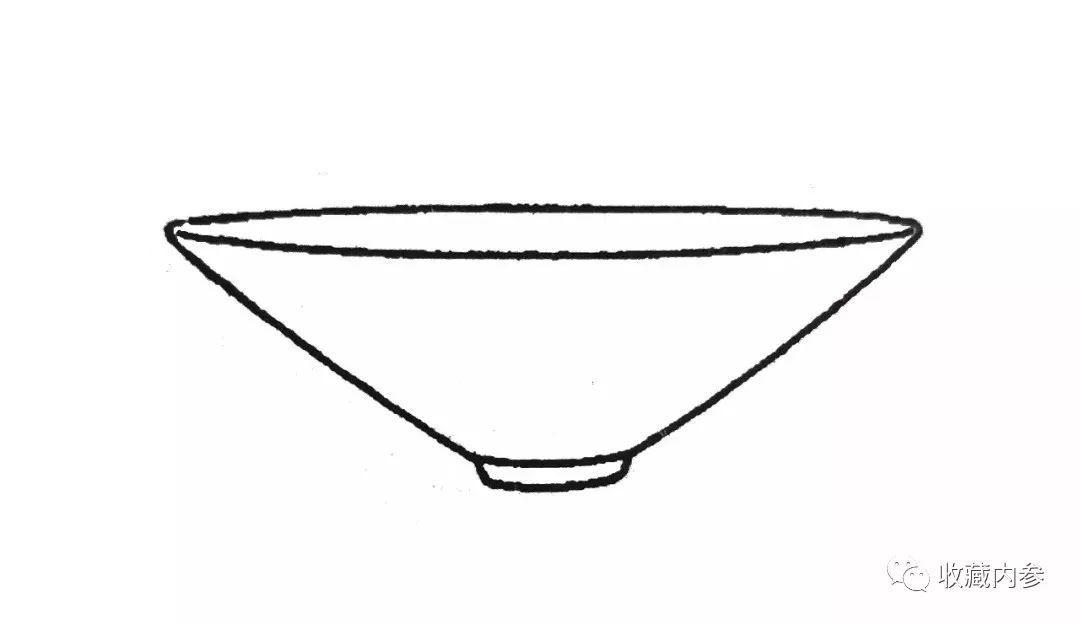 宋代极简器型手绘