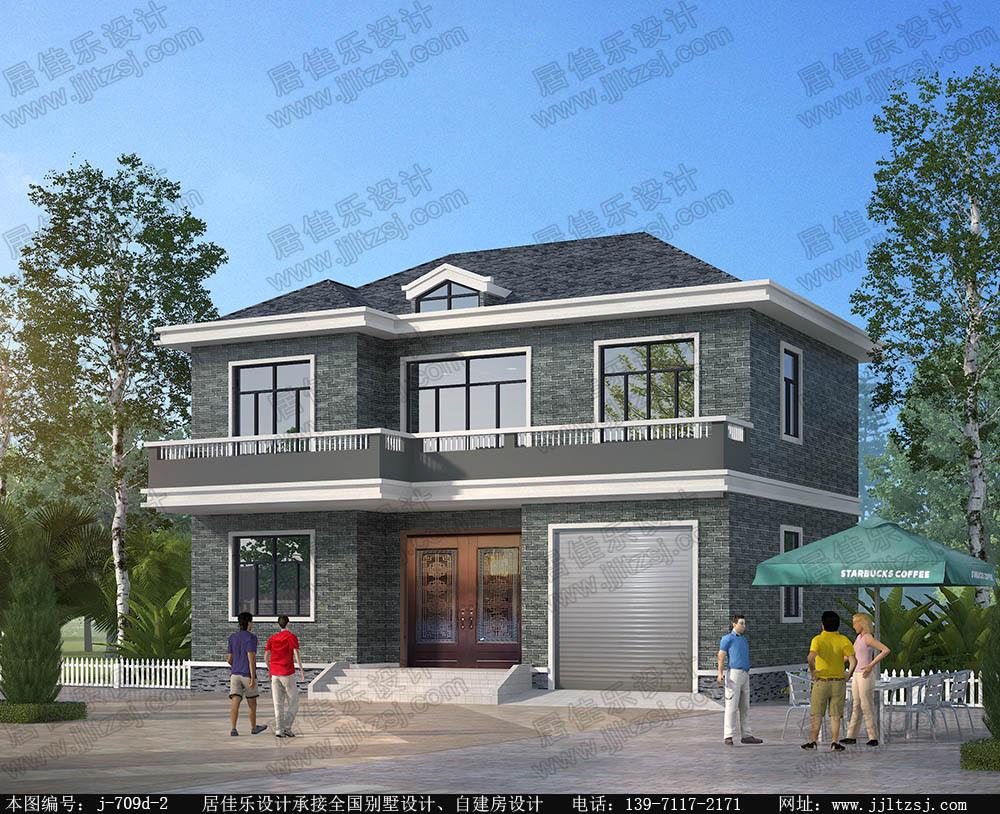116平米二层别墅设计图纸,12.84x8.94米,18-25万造价.砖混结构