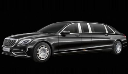 网上获悉了一组新款Mercedes-Benz S650 Pullman Maybach的图片