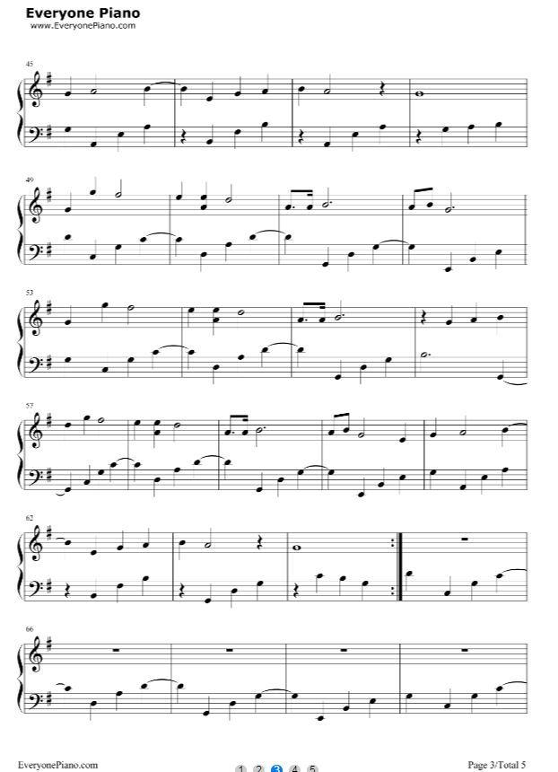 钢琴曲欣赏 |钢琴曲《忧伤还是快乐》_简谱图片