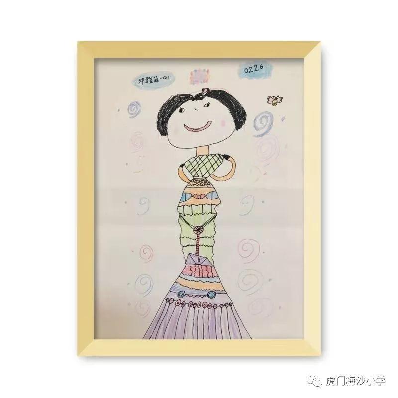 最美绘画展来袭!看看虎门梅沙小学生是画的北师大版小学数学练习册图片