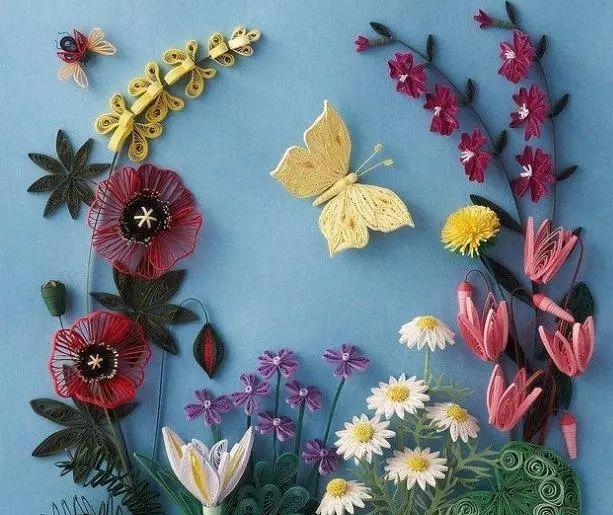 儿童衍纸diy,打造秋季小花园 | 报名[椒江]图片