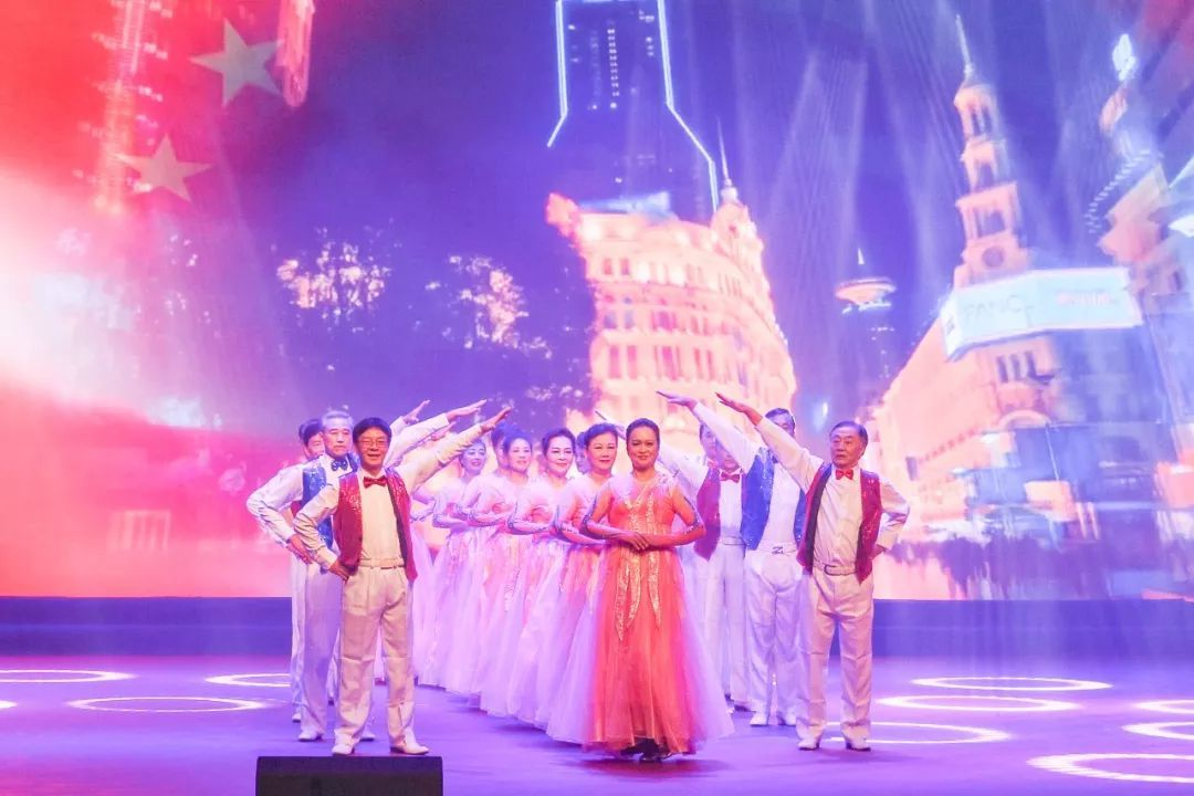 模特走秀《和谐中国》