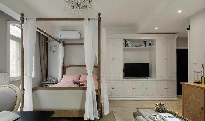 47㎡美式范单身公寓,收纳力满满,还有一个独立书房图片