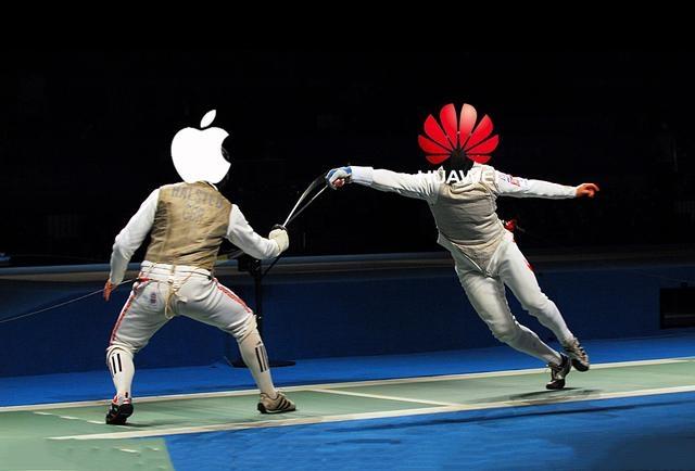 苹果超越华为夺回全球第二
