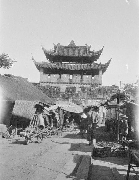 盘点老照片中的中国古城门,大部分已被拆除成为历史