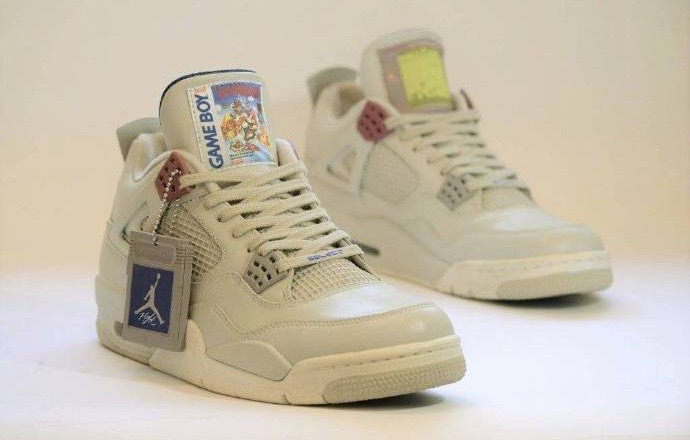 """限量十双!Air Jordan 4""""Game Boy""""客制版本首曝光!"""