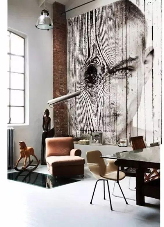 独具创新的手绘墙