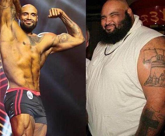 他常年吃高热量食品影响健康体重达660斤女友陪伴他健身4年!
