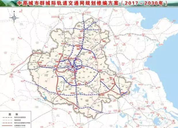 濮阳厉害了 在确定郑济高铁通过后,又拿下这两条高铁 规划
