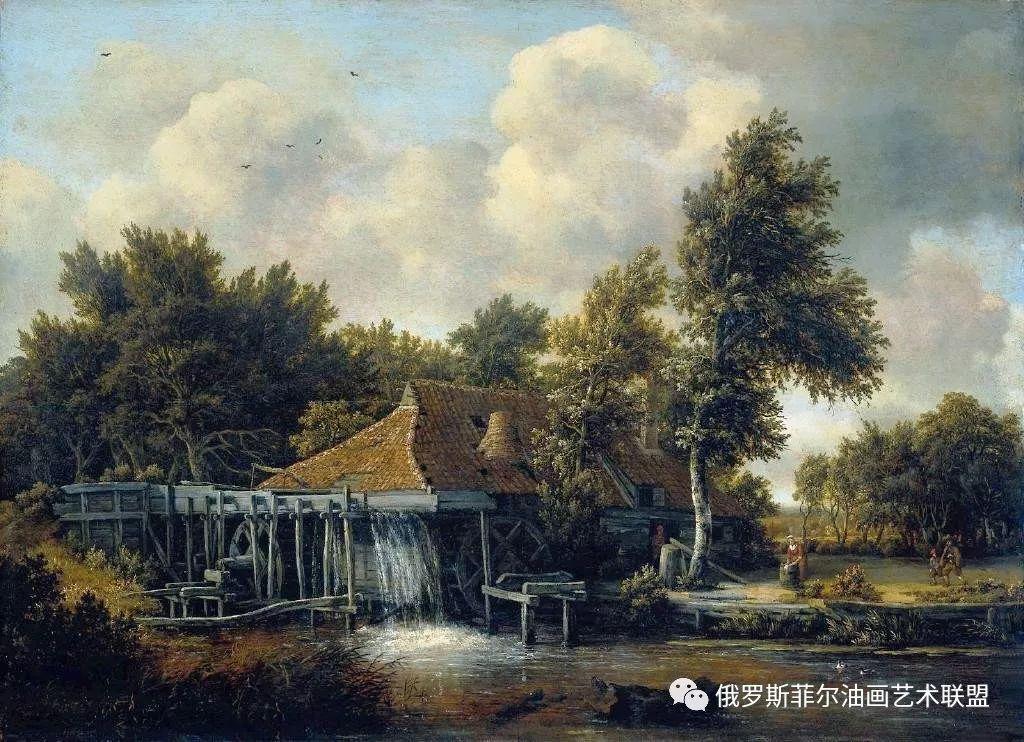 荷兰画家霍贝玛风景油画作品赏析