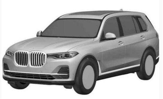 X7是宝马的旗舰车型 定于洛杉矶车展正式首发亮相