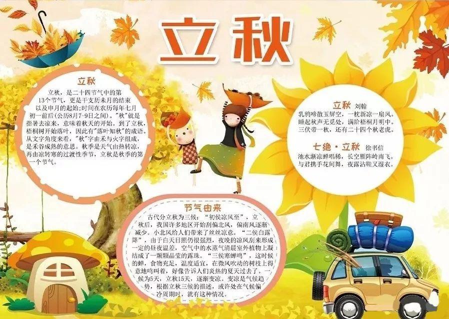 【爱思·新标准教育】秋季手抄报大全,重阳节,秋天节气,秋季健康