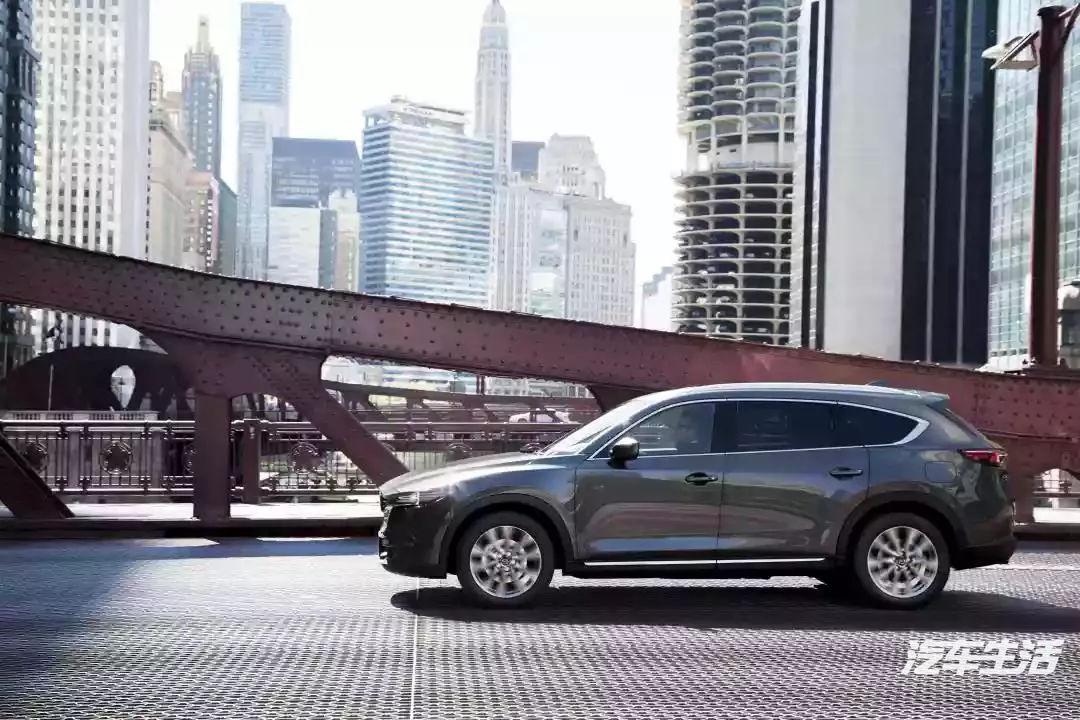 马自达CX-8正式下线,一台能带一家老小的真7座SUV