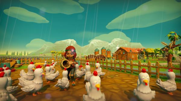 《一起玩农场》游戏开语音交流方法