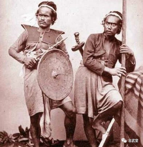 世界三大名刃之糙面焊接花纹刃马来克力士剑