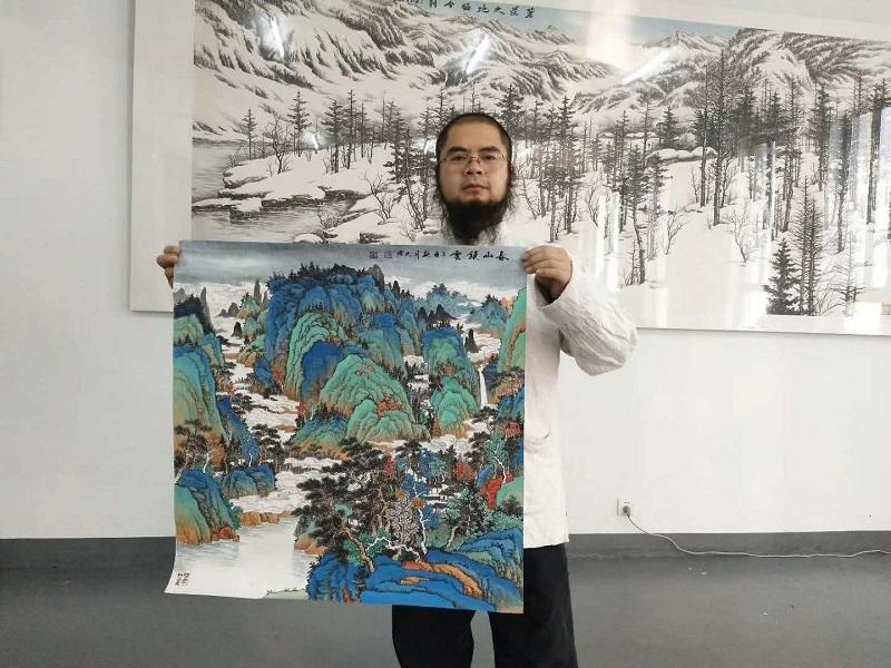吴大恺—新时代最具收藏价值的实力派画家之一