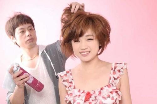 上海发型师v农村造型师何浩从农村小伙到行业建筑设计与雕塑图片