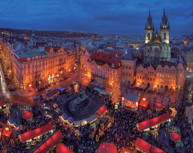 俯瞰布拉格广场 f9,5s