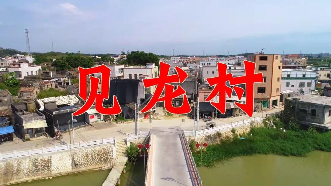 航拍!隆江四大乡之一的''见龙村''...见龙小伙伴们看到你家了吗?